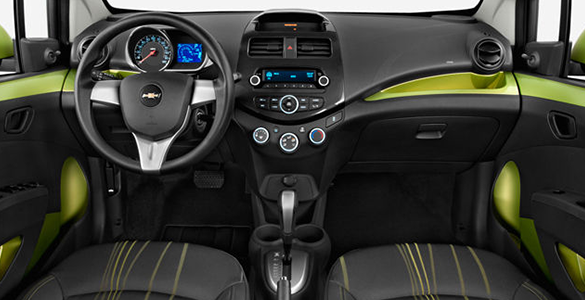 Car Rental Dubai Inside chevrolet spark