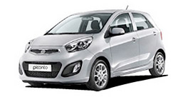 Picanto Car Available for Rent Dubai