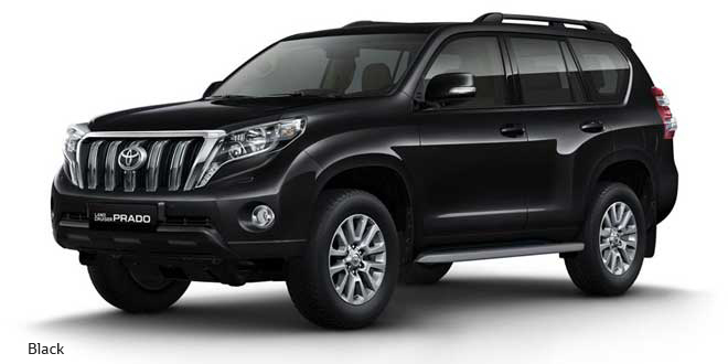 Toyota Prado Available for Rent Dubai