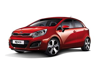 Kia Rio Rent a car dubai
