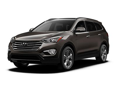Hyundai Santa Fe for Rent Dubai